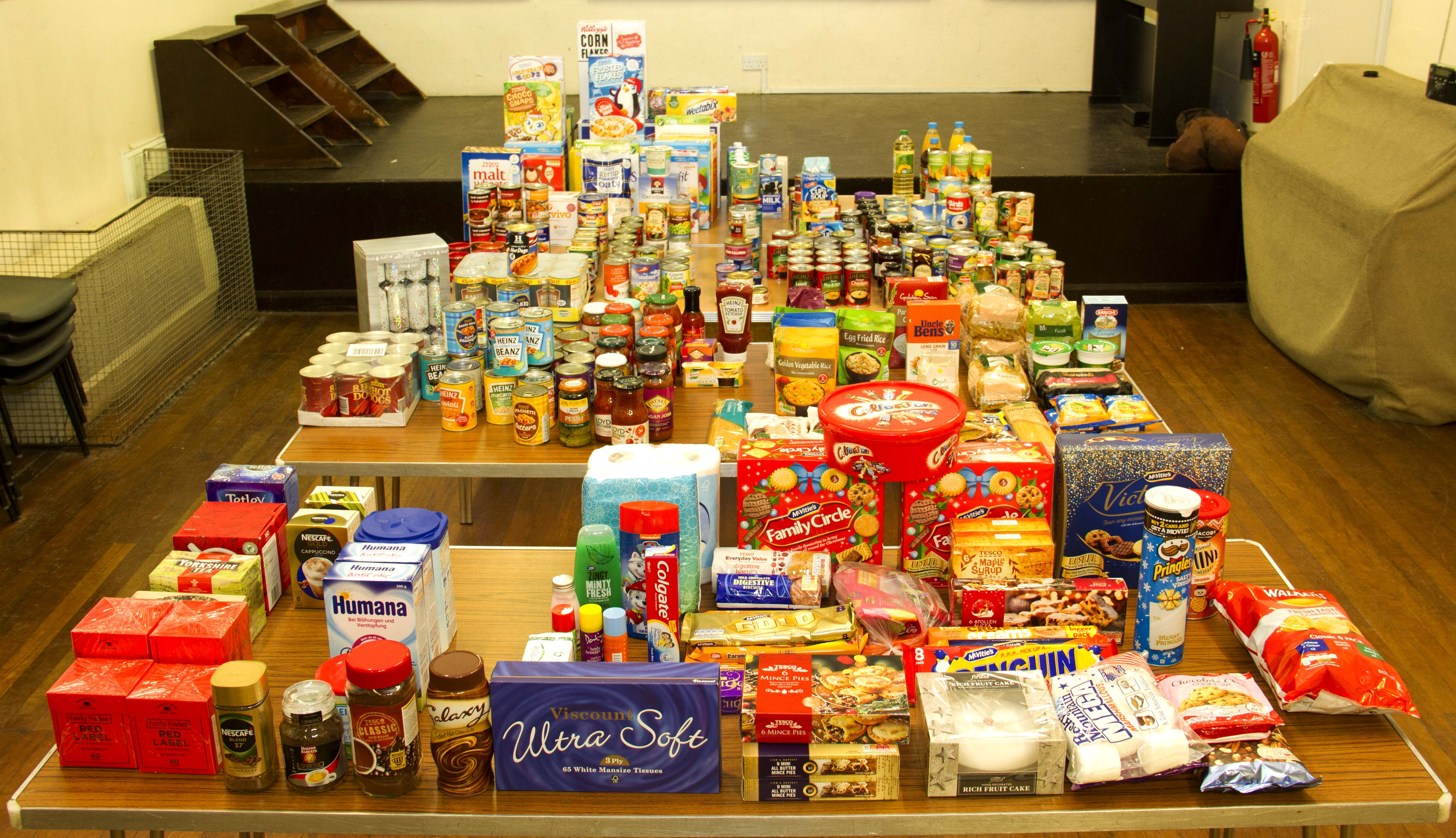 Reminder Eara Food Bank Collection For The Salvation Army